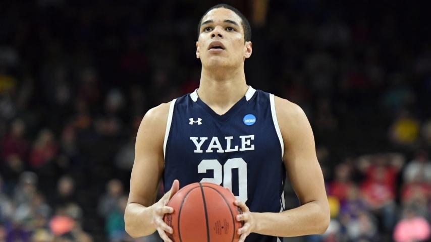 Yale graduate transfer Paul Atkinson Jr. talks his recruitment